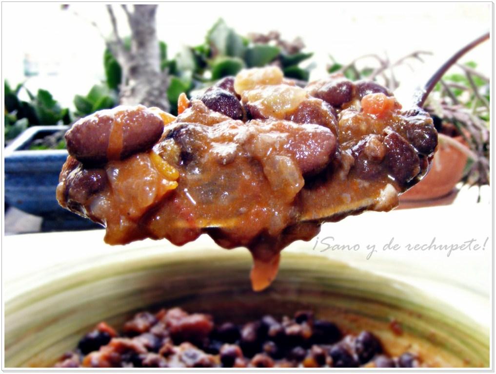 Chili con carne platillo de la cocina tex mex laube leal for Cocinar judias negras