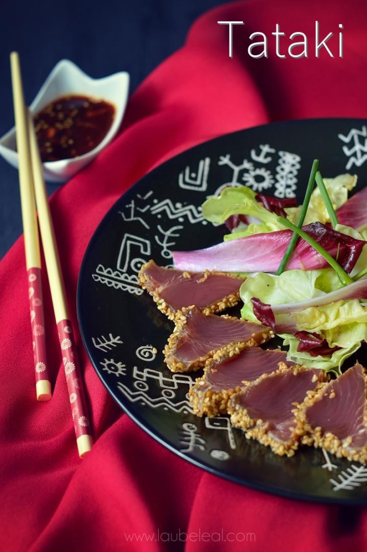 Tataki de bonito listado canario