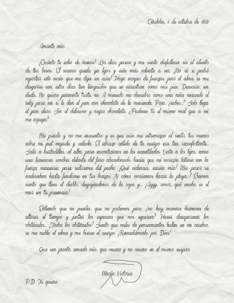 Cómo escribir correctamente una carta