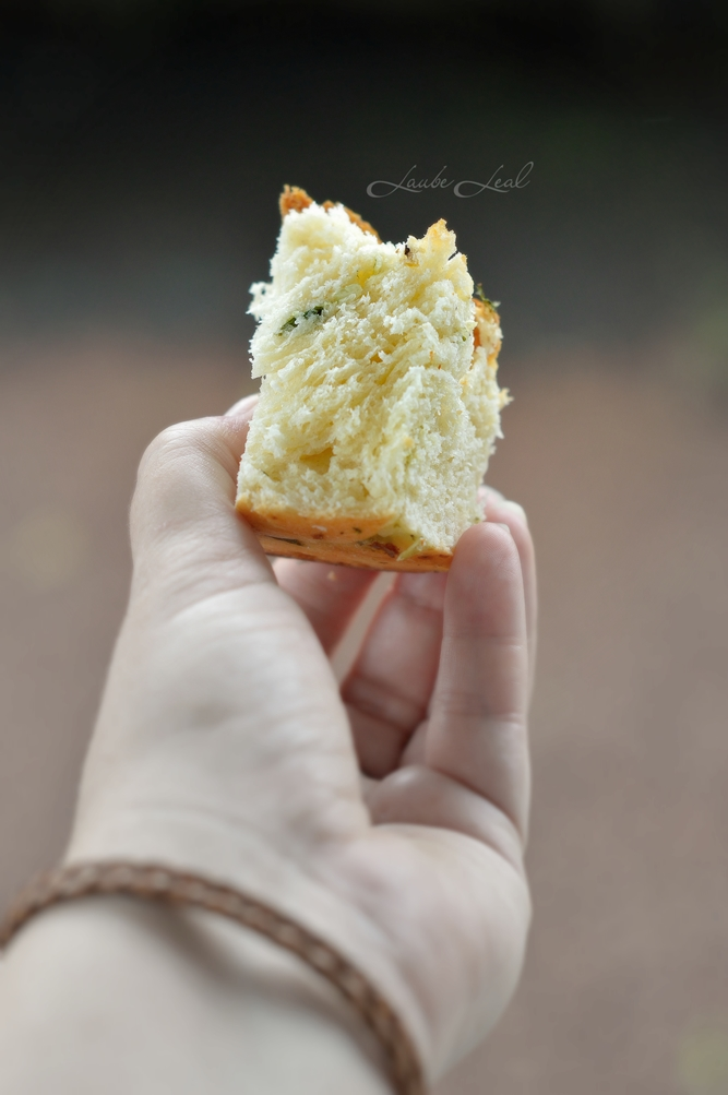 Pan bollo trenzado y salado