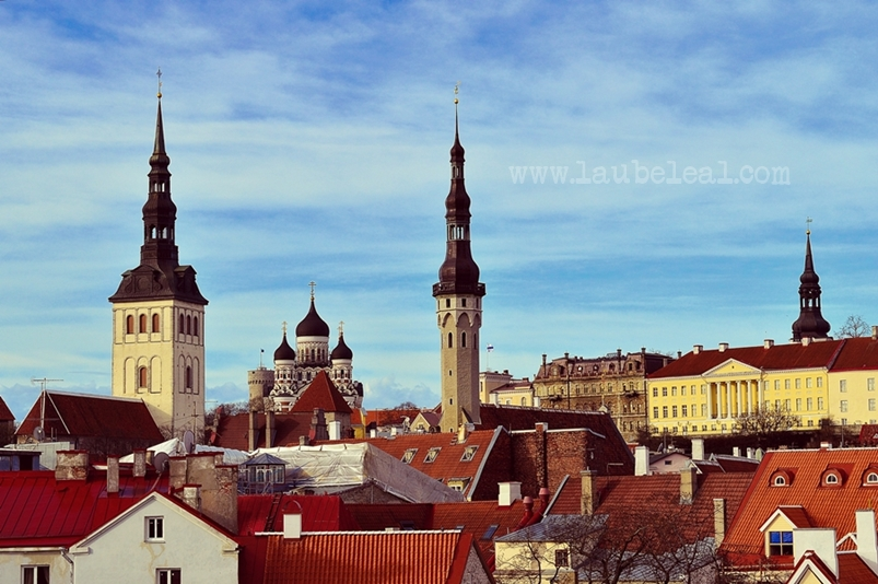 Ciudad de Tallin, Estonia