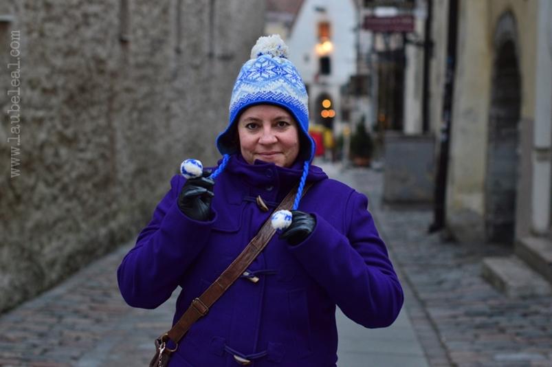 Retrato Laura en Tallin, Estonia